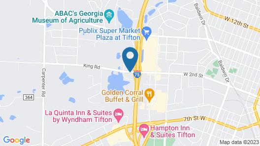Quality Inn Tifton Map
