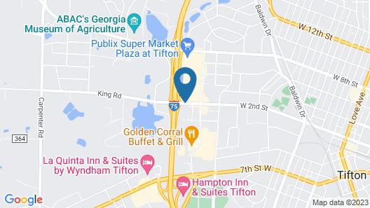Super 8 by Wyndham Tifton Map
