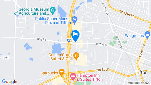 Econo Lodge Tifton Map