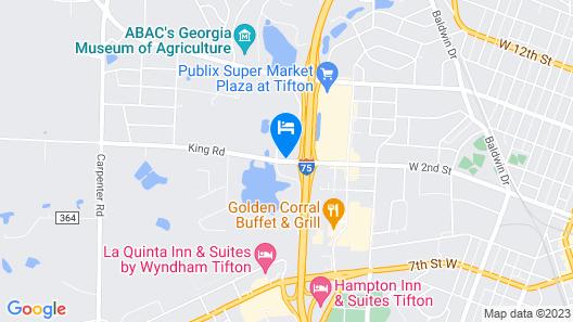 Motel 6 Tifton, GA Map
