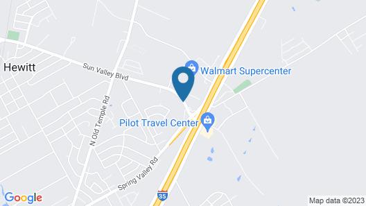 Ramada by Wyndham South Waco Map