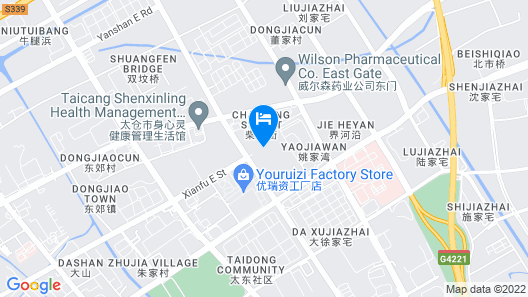 Four Points by Sheraton Taicang Map