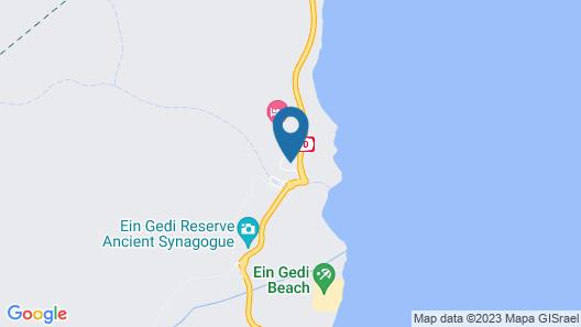 Hi Ein Gedi Hostel Map
