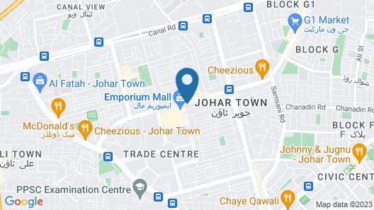 Royal Hayat Hotel Map