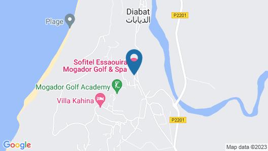 Sofitel Essaouira Mogador Golf & Spa Map