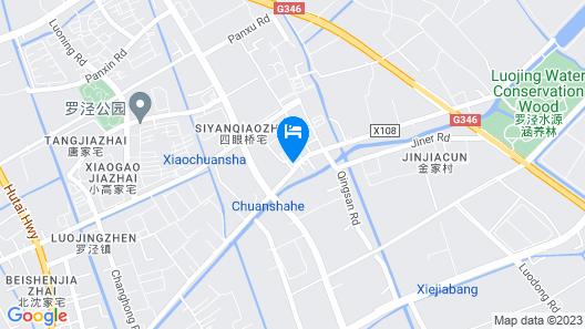 Greentree Inn Shanghai Luojing Express Hotel Map