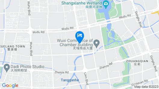 HUALUXE Wuxi Taihu - An IHG Hotel Map