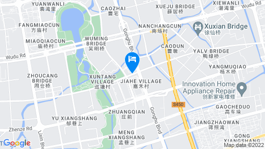 Holiday Inn Express Wuxi Taihu New City, an IHG Hotel Map