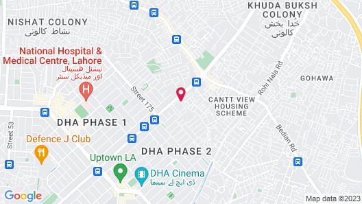 Rajba hotels Map