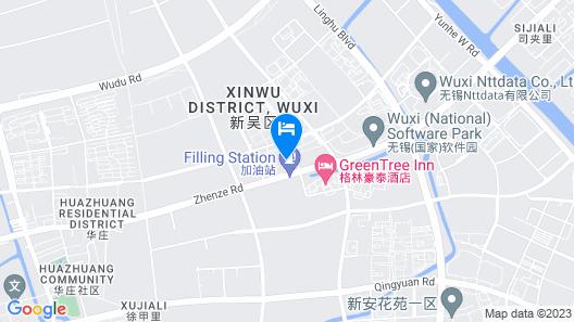 Pullman Wuxi New Lake Map