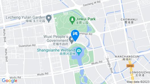 Wanda Vista Wuxi Map
