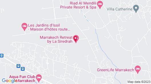 Marrakech Retreat By La Siredrah Map