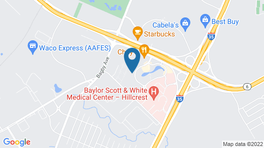 Holiday Inn Express & Suites Waco South, an IHG Hotel Map