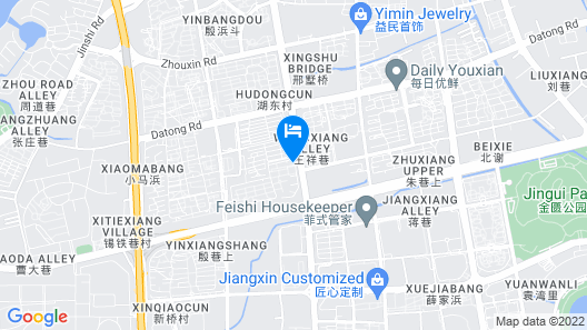 DoubleTree by Hilton Wuxi Map