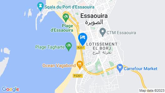 Atlas Essaouira & SPA Map