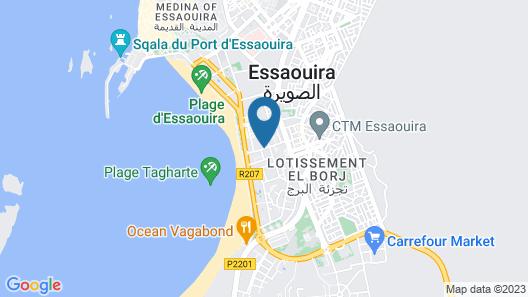 Essaouira Beach Hostel Map