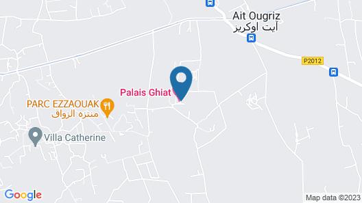 Palais Ghiat Map