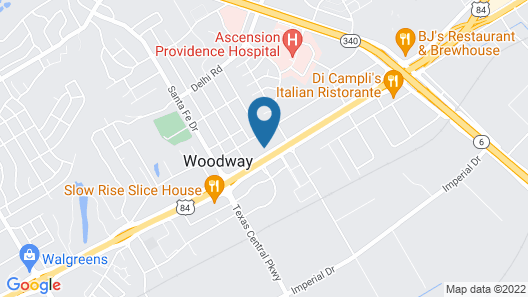 Motel 6 Woodway, TX Map