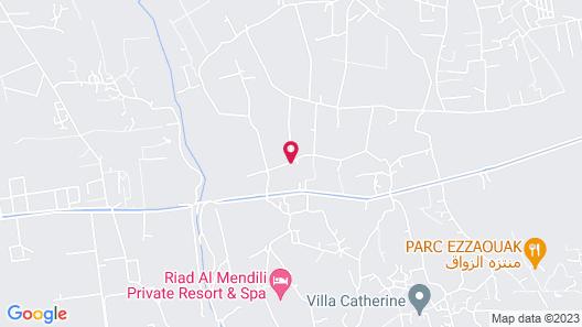 Riad Couleur Sable Map