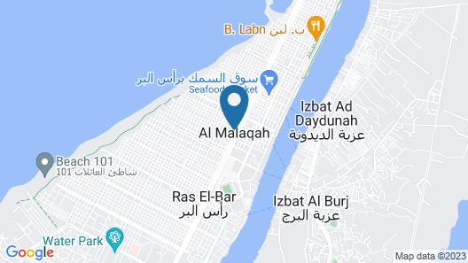 Alwady Hotel Map