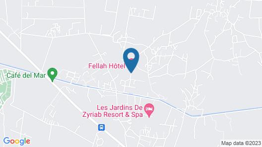 Fellah Hotel Map