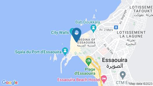 Dar Mounia Map