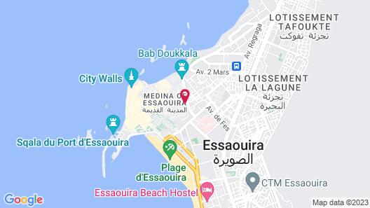 Riad Chbanate Map