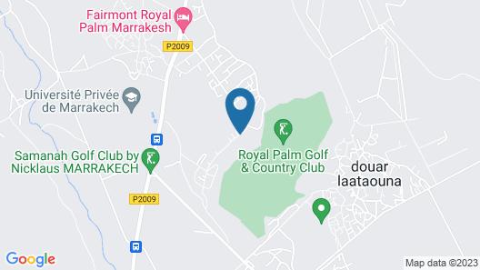 Fairmont Royal Palm Marrakech Map