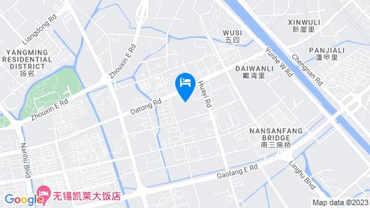 Greentree Alliance Jiangsu Wuxi Gangxia North Town Map