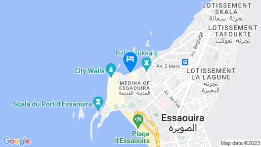Riad Perle D'eau Map