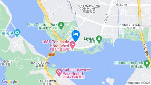 Courtyard by Marriott Wuxi Lihu Lake Map