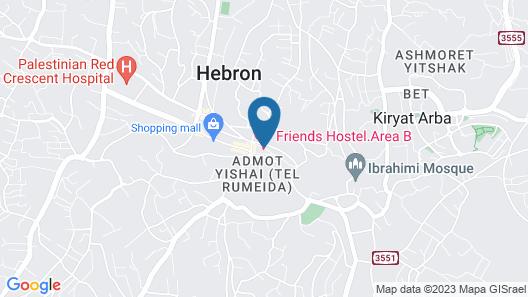 Friends Hostel.Area B Map