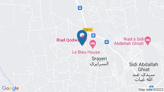 Riad Qodwa Map