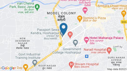 Hotel Presidency Map