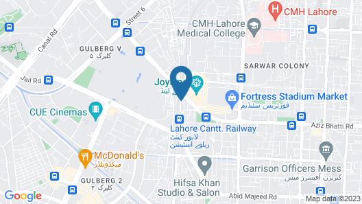 Ashiana Hotel Map