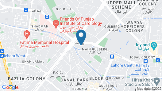 Shalimar Tower Hotel Map