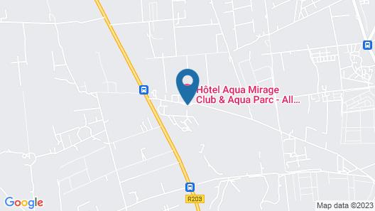 Aqua Mirage Club & Aqua Parc - All Inclusive Map