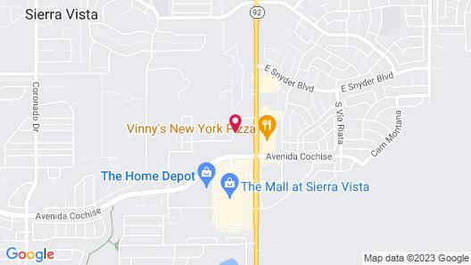 Holiday Inn Express Sierra Vista, an IHG Hotel Map