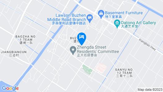 GreenTree Inn Shanghai Chongming Bao Town Express Hotel Map
