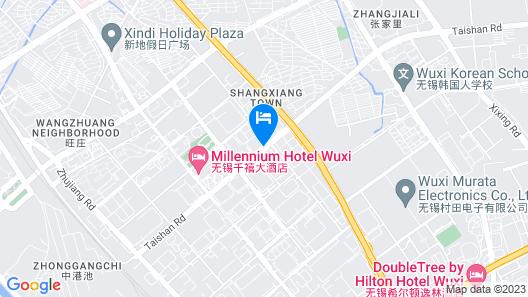 Shimao Rui Selected Shangpin Hotel Map