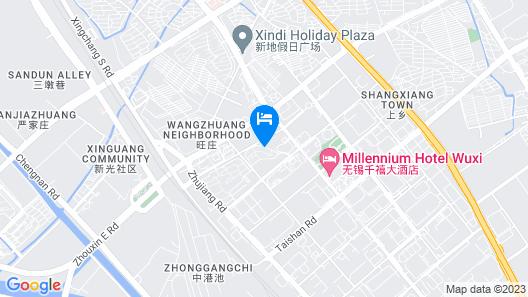 Millennium Hotel Wuxi Map