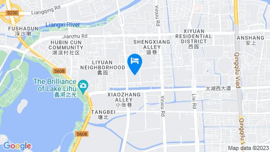 Crowne Plaza Wuxi Taihu Map