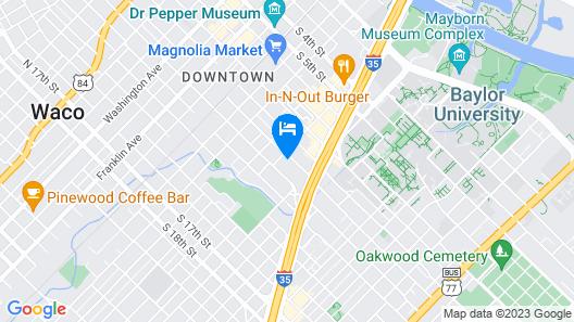 La Quinta Inn & Suites by Wyndham Waco Downtown - Baylor Map