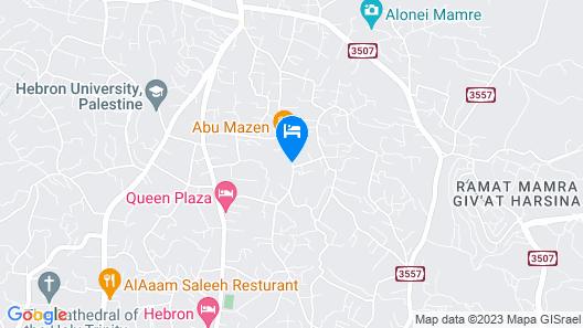 Abu Mazen Hotel Map