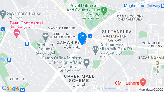 Mall View Hotel Map