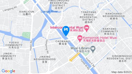 Crowne Plaza Wuxi City Center Map