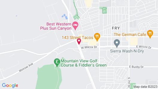 Gateway Studio Suites Map