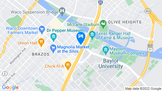 Springhill Suites by Marriott Waco Map