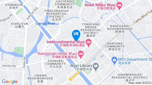 Intercontinental Wuxi Map