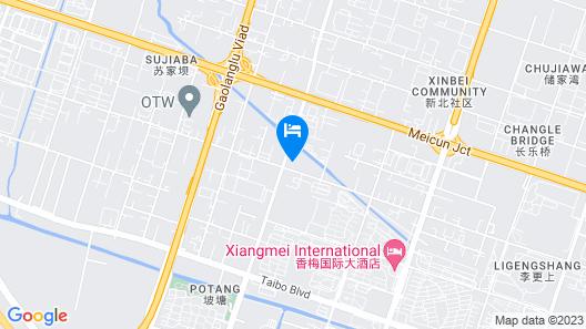 Jinjiang Inn Wuxi New District Meicun Map